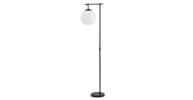 Pendula Gunmetal Floor Lamp - Article