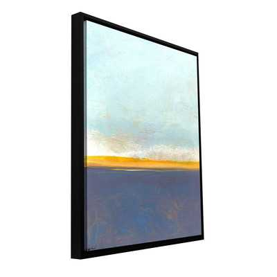 'Big Country Sky I' by Jan Weiss Framed Painting Print on Wrapped Canvas - Wayfair