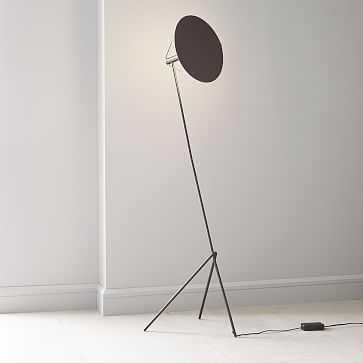 Powell LED Floor Lamp, Dark Bronze - West Elm
