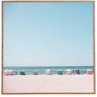 'Beach Huts' Photographic Print - Wayfair