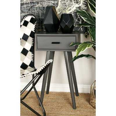 Wood End Table With Storage - Wayfair