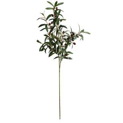 Artificial Olive Fruit Spray Branch (set of 3) - Wayfair