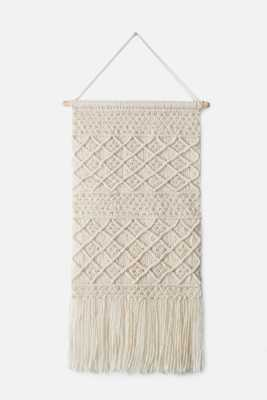 WALL HANGINGS - IVORY - Loma Threads