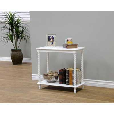 White End Table - Home Depot