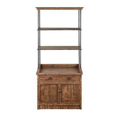Bevin Ludin Etagere Bookcase - Wayfair