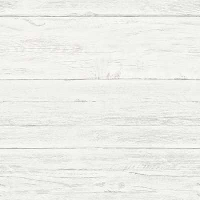 Off-White Shiplap Peel and Stick Wallpaper, White, Priced per Roll, Covers 30.75 sq. ft. - Home Depot