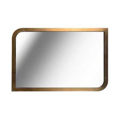 Kenroy Home Swoop Painted Brass 24-Inch  Wall Mirror - 60236 - eBay