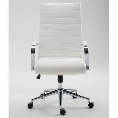 Clovis High-Back Desk Chair - Wayfair