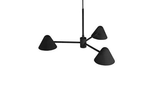 Conico Black Pendant Lamp - Article