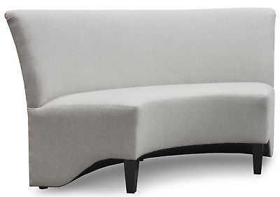 Orren Ellis Singkil Curved Upholstered Bench - eBay