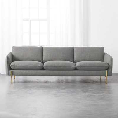 Hoxton Grey Sofa - CB2