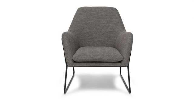 Forma Meteorite Gray Chair - Article