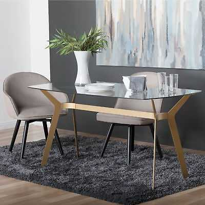 Studio Designs HOME Archtech Dining Table: Gold - eBay