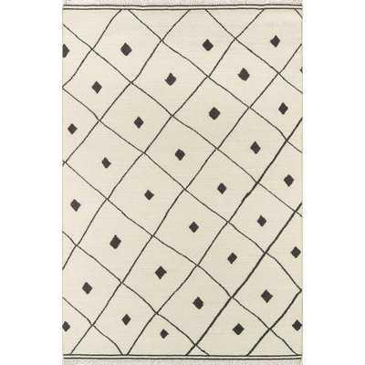 Thompson Appleton Hand-Woven Wool Ivory Area Rug - AllModern