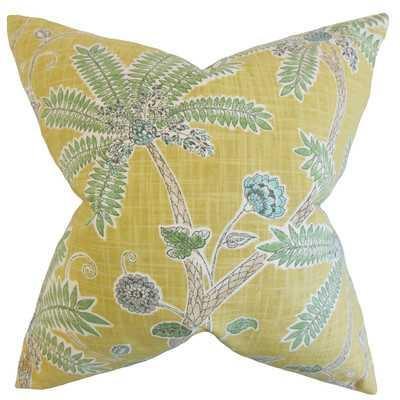 Mead Floral Cotton Throw Pillow - Wayfair