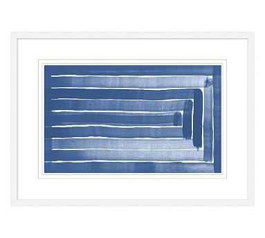 Linear Blues 2 - Pottery Barn