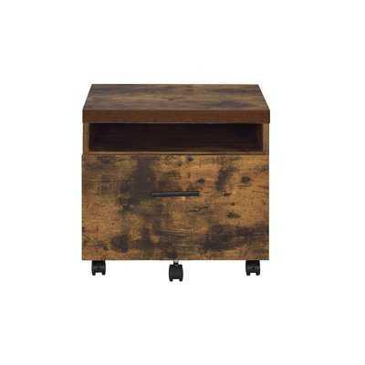 Francesca Lateral 1-Drawer Mobile Vertical Filing Cabinet - AllModern