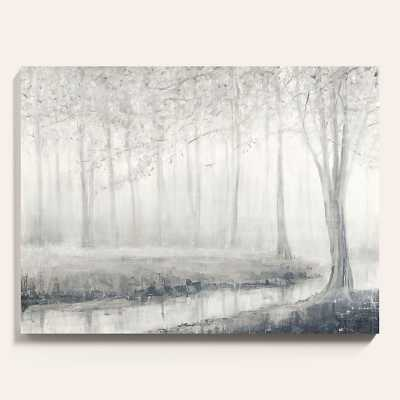 "Ballard Designs Morning Chill Stretched Canvas  30"" x 40"" - Ballard Designs"