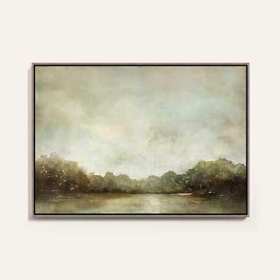 "Ballard Designs Suzanne Kasler Bayonne Framed Canvas  24"" x 34"" - Ballard Designs"