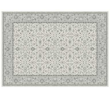 Malika Custom Rug, Cool Multi, 10 x 14' - Pottery Barn
