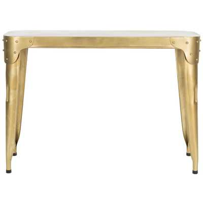Gold Console Table - Home Depot
