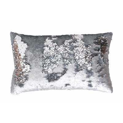 Mermaid Sequin Reversible Melody Lumbar Pillow - AllModern