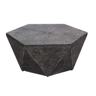 Morwenna Stone/Concrete Coffee Table - Wayfair