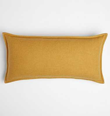 Italian Wool Pillow Cover - Mustard - Rejuvenation