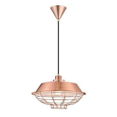 Eurofase London Collection 1-Light Copper Pendant - Home Depot