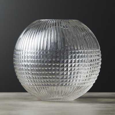 Riviera Glass Sphere Vase - CB2
