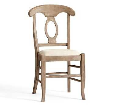 Napoleon Dining Side Chair, Seadrift - Pottery Barn