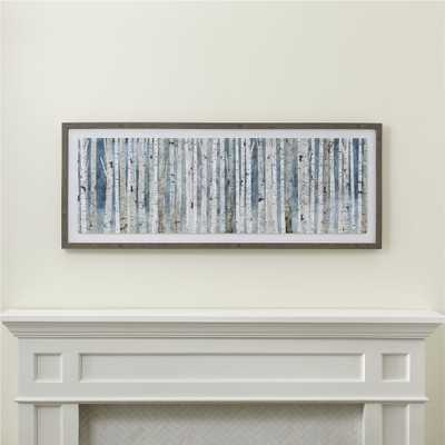 Birch Trees Print - Crate and Barrel