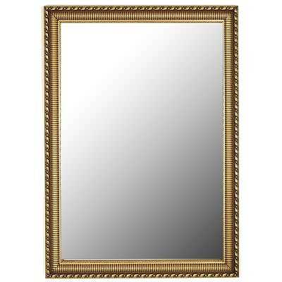 """Hitchcock Butterfield Gaultier Ornate Large Gold Mirror: 34.25"""" x 44.25"""" - eBay"""