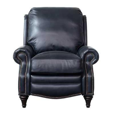 Midbury Leather Manual Recliner - Wayfair