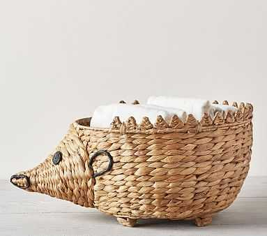 Shaped Critter Storage, Hedgehog Diaper Caddy - Pottery Barn Kids
