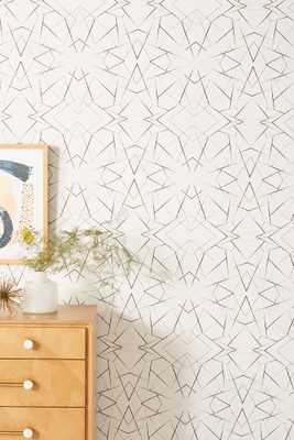 Geo Diamond Wallpaper - Anthropologie