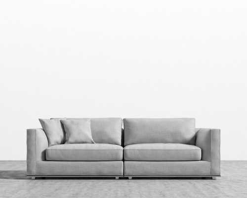 Milo Sofa - Arctic Grey - Rove Concepts