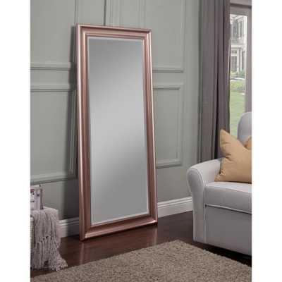 Rose Gold Full Length Leaner Floor Mirror - Home Depot