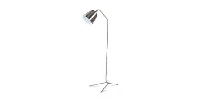 Cado Nickel Floor Lamp - Article