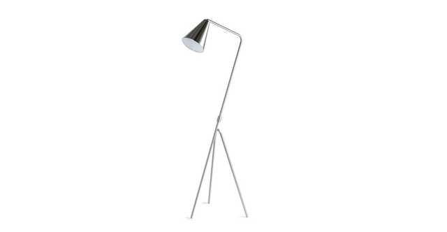 Gira Nickel Floor Lamp - Article