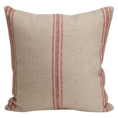 Artisan Classic Stripe Linen Throw Pillow - Wayfair
