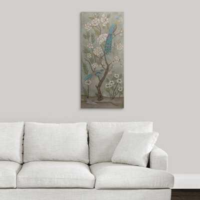'Gardenia Chinoiserie II' Chariklia Zarris Painting Print - Wayfair