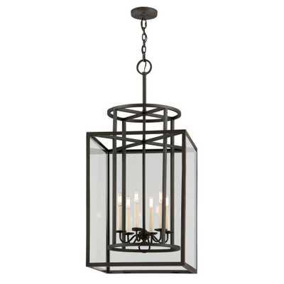 Troy Lighting Maddox 6-Light Textured Bronze Pendant - Home Depot