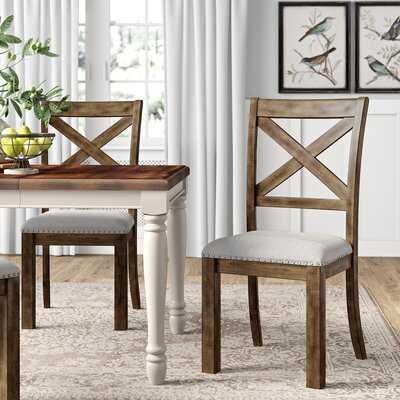 Haymarket Upholstered Dining Chair (Set of 2) - Birch Lane