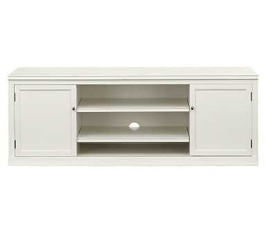 Logan Modular TV Stand, Antique White - Pottery Barn
