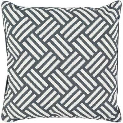 "Basketweave, 20"" Outdoor Pillow - Neva Home"