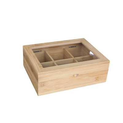 Bamboo Tea Box - Home Depot