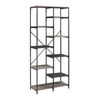 "Bowman 68"" Multi-Level Etagere Bookcase - Wayfair"