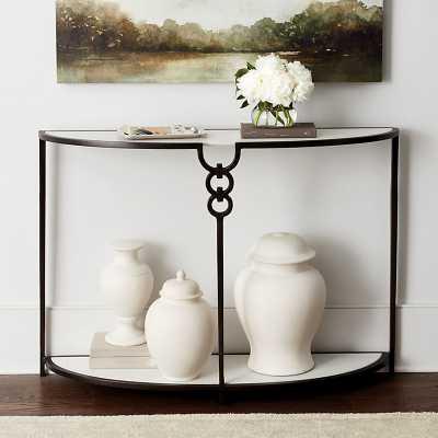 Ballard Designs Suzanne Kasler Trenton Demilune Table - Ballard Designs