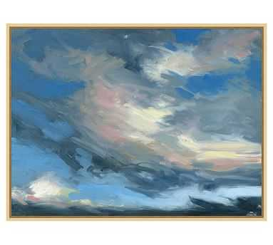 "Putney Sky Canvas, 25 x 19"" - Pottery Barn"